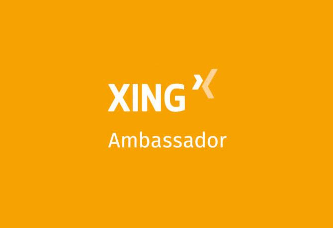 XING Ambassador
